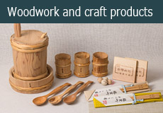 Woodwork and craft products